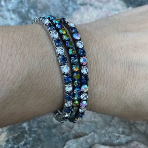 ⚡️Set of 3 rhinestone bracelets